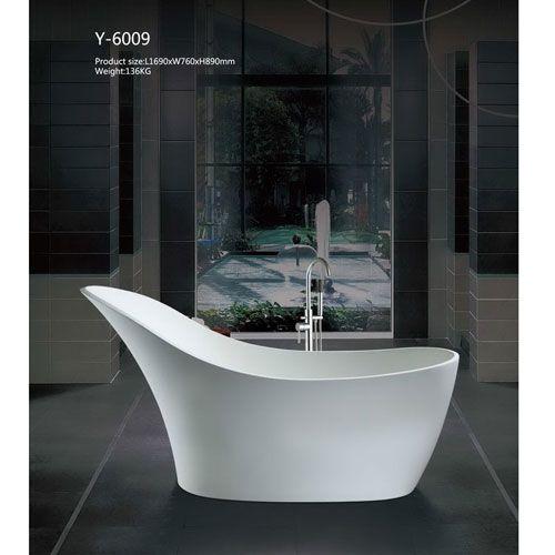 洁仕高卫浴-人造石浴缸Y-6009