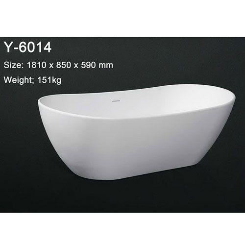 洁仕高卫浴-人造石浴缸Y-6014