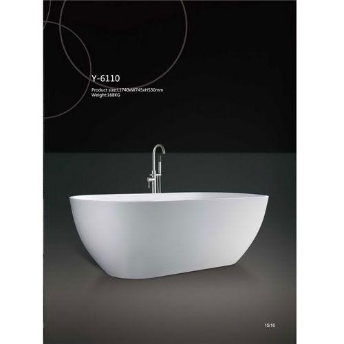 洁仕高卫浴-人造石浴缸Y-6110