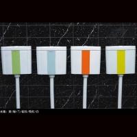 洁仕高卫浴-陶瓷座便器系列黄-绿-兰-桔红-粉红-白