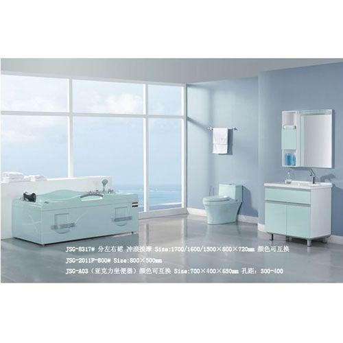洁仕高卫浴-套间系列JSG-8317