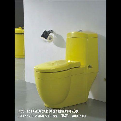 洁仕高卫浴-压克力座便器系列JSG-A01