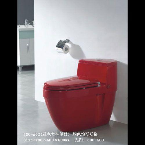 洁仕高卫浴-压克力座便器系列JSG-A02