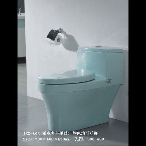 洁仕高卫浴-压克力座便器系列JSG-A03