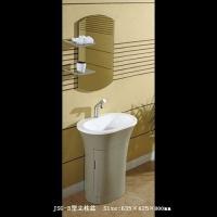 洁仕高卫浴-亚克力盆浴室柜JSG-B型立柱盆