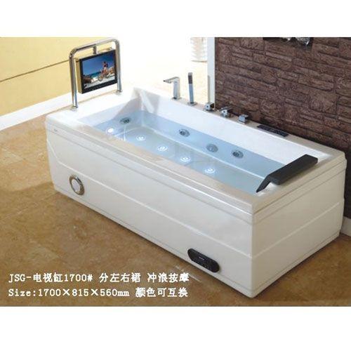 洁仕高卫浴-浴缸系列JSG-电视缸1700