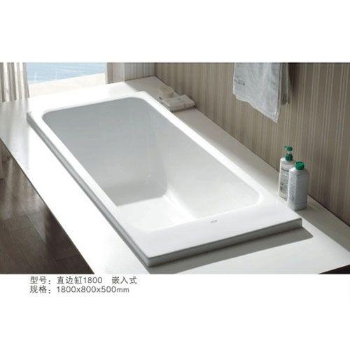 洁仕高卫浴-直边缸1800
