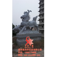 石雕麒麟雕刻