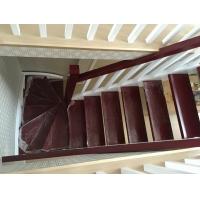 实木楼梯红橡木楼梯红橡楼梯家用复式阁楼楼梯