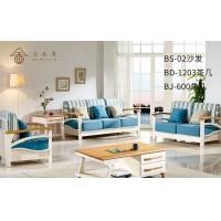 北欧风家具实木沙发现代田园家具客厅家具欧式家具