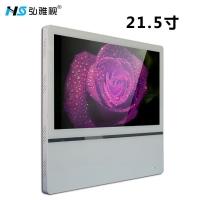 21.5寸超薄款分众壁挂广告机 超清电梯广告机 可分屏竖屏