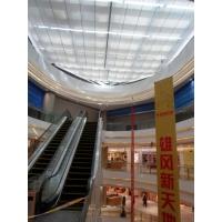 商场采光顶隔热 遮阳 防晒 挡光 中厅玻璃顶遮阳帘 布 窗帘