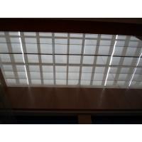 玻璃采光顶遮阳布 商场中厅遮阳帘 防火 阻燃 隔热布