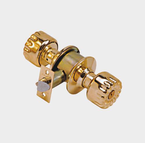 圆筒式球形门锁
