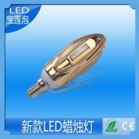 LED蜡烛灯 5W高品质蜡烛灯 质保两年