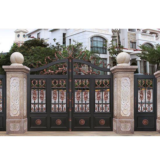 欧式铝艺庭院门系列-sy017-b