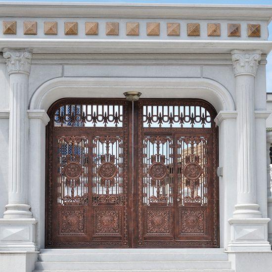 欧式铸铝庭院门系列-sy506