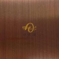 酒店电梯装饰,不锈钢古铜拉丝板,高贵典雅不锈钢