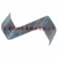 天津热镀锌喷漆打孔Z型钢檩条