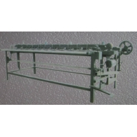 竹胶板硬帘编织机