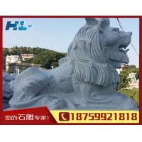 狮子石雕 动物雕刻 精品雕刻