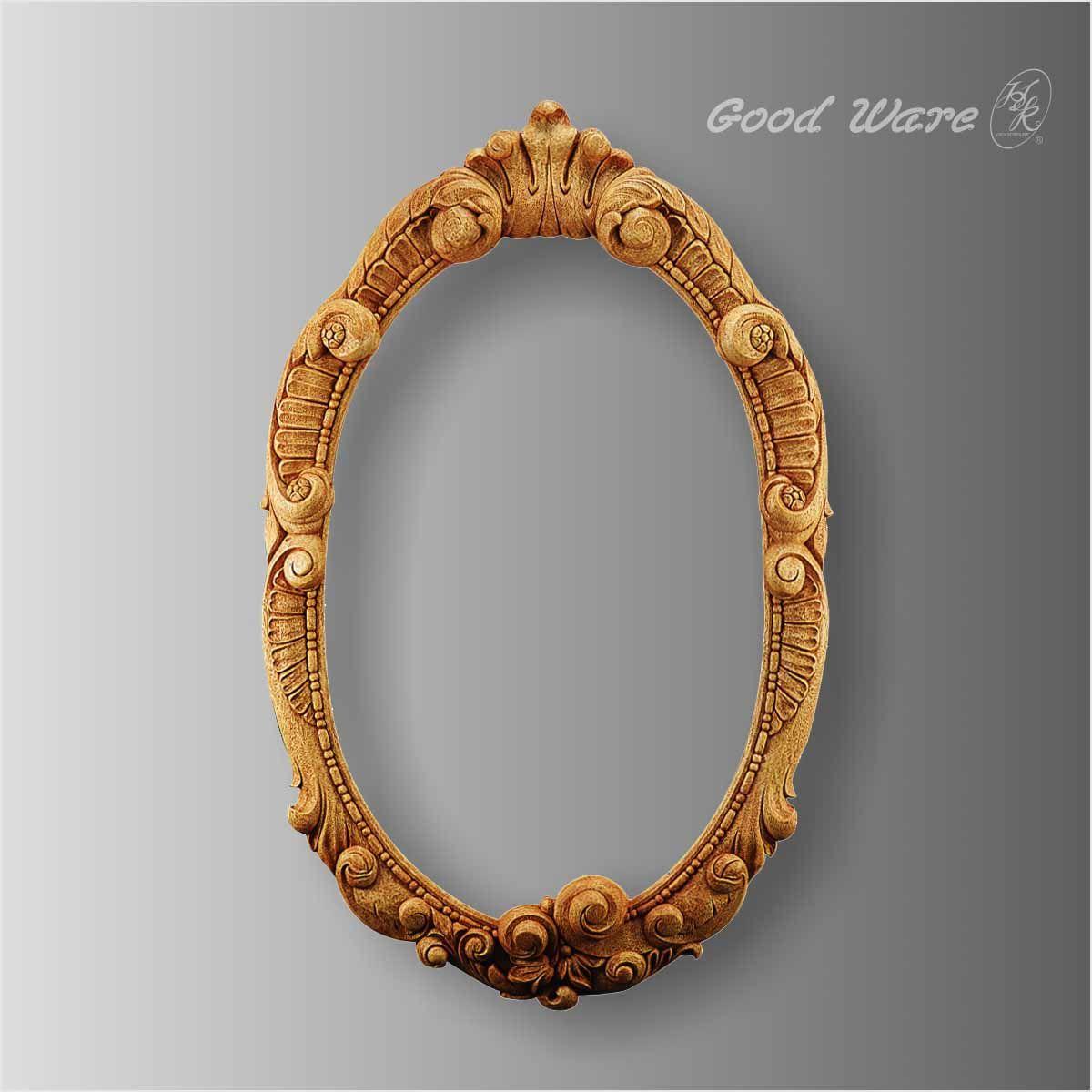 华椢(gui)欧式复古镜子的欧式装饰镜框,鸡蛋的外形,将其在上面进行弧线勾勒,挖出一个坑状,将其形成了一个面高是1005毫米,面宽是625毫米,面厚是55毫米唯美的镜框,耐用,不会掉色,不会产生细微纤维和粉尘,可以装饰在镜子上。 华椢(gui)欧式装饰镜框的详细参数