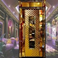 不锈钢ktv门/不锈钢黄古铜酒店大门