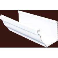 别墅屋面PVC落水系统方形雨水管塑料天沟排水槽
