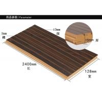 KTV墙体隔音装修材料 槽木吸音板