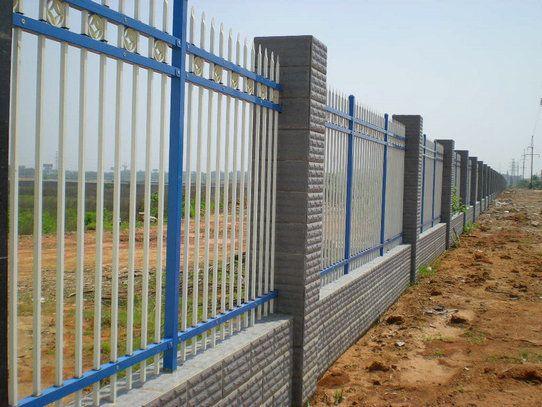 供应幼儿园围墙护栏,学校锌钢栅栏,金属围墙护栏