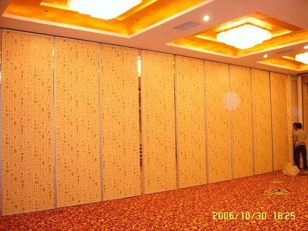 酒店活动隔断屏风,大厅推拉折叠隔断吊门