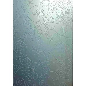 成都韩国三级特種玻璃(冰雕係列)-繁華似錦