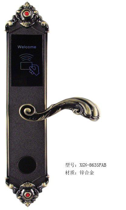 新概念酒店电子智能门锁XGN8635古铜