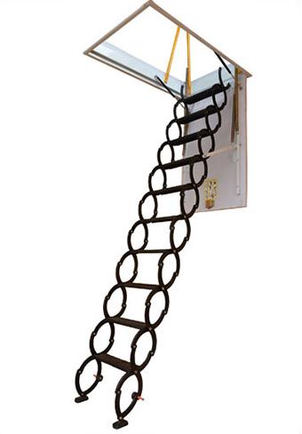 家用升降电动遥控伸缩阁楼梯 电梯 别墅复式阁楼楼梯 隐形家用