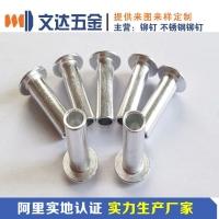 【深圳文达】厂家直销铝铆钉 6063合金铝铆钉 可按图纸要求
