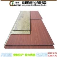 君桥生态木快装墙板欧式腰线