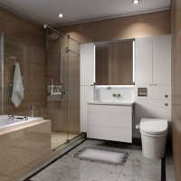 西文卫浴整体卫浴G500系列
