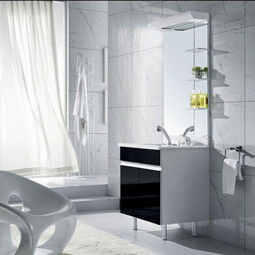 西文卫浴-落地式/镜里浴室柜L-201