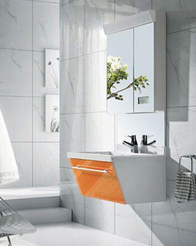 西文卫浴吊挂式镜箱浴室柜