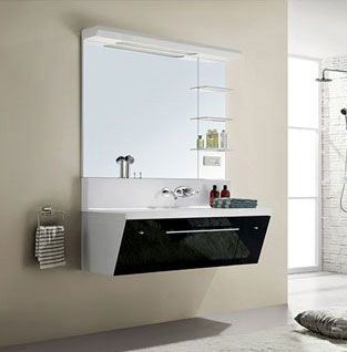 西文卫浴吊挂式/镜面柜