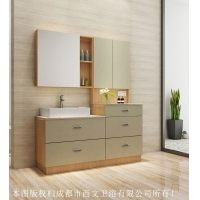 西文定制卫浴2017组合浴室柜