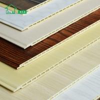 环保阻燃快装 300-600mm竹木纤维集成墙板 集成墙面护