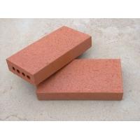 真空砖 广场砖毛面砖 带孔砖真空毛面砖 陶土砖
