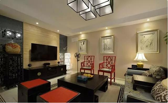 85后90后请注意:中式风格客厅装修24例