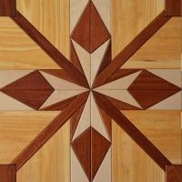 红心地板-A-0030 松木+红檀香+枫木