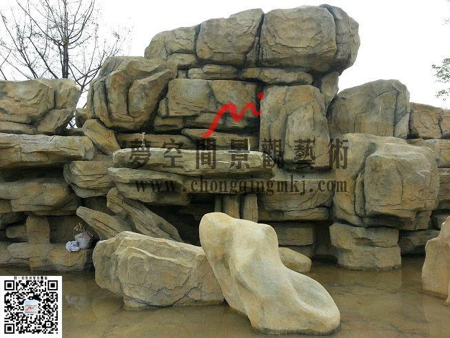 【重庆假山】制作及重庆塑石假山制作 - 梦空间