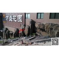 重庆专业水泥假山景观制作
