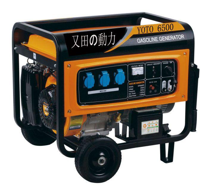 6kw家用汽油发电机|便携式汽油发电机