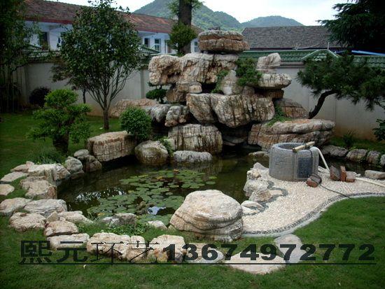 建材产品 园艺 园林设施 假山景观石 产品详细介绍  5,砌围边:用红砖