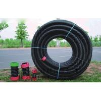 珠海PE单壁螺旋管|聚乙烯碳素波纹管|电力电缆保护管